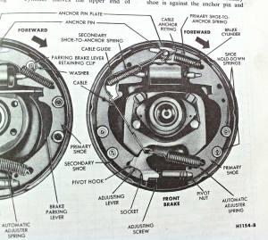 1965 Ford F100 Rear Brake Diagram  Wiring Library