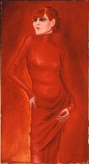 Ritratto di Anita Berberm di Otto Dix, 1925.