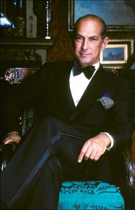 Oscar de la Renta nel 1985.