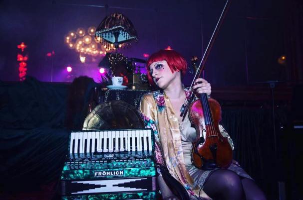 Shir-Ran Yinon, la violinista.