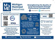 """Advocacy Committee Creates MME """"Rack Card"""""""