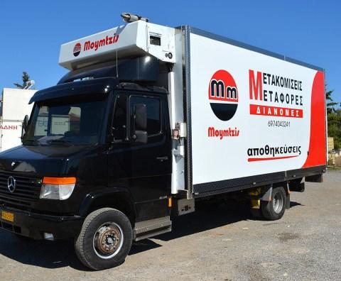 Ψυγειομεταφορές 003. Φορτηγό ψυγείο Mercedes Vario 615, χωρητικότητας 10 παλετών