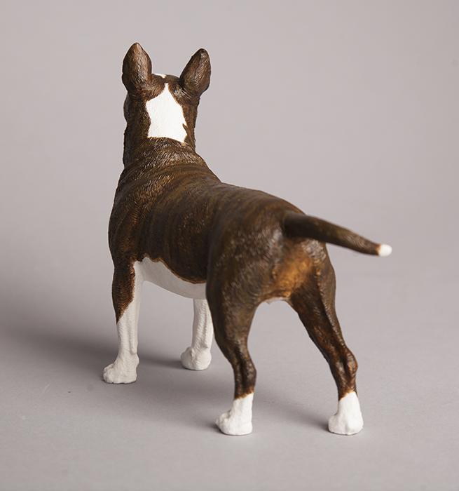Custom Painted English Bull Terrier Figurine Pet
