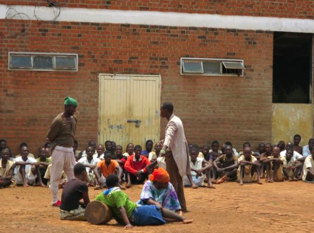 MMH Youth Group perform at Mulanje Prison