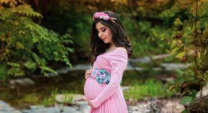 Pregnant Woman Eastern