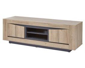 meuble tv contemporain en bois pour le