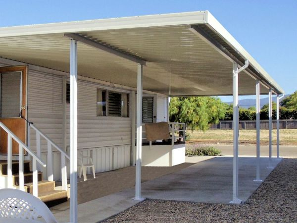 Mobile Home Aluminum Patio Awnings