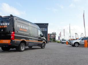 Verburg Tuin en Infra Volkswagen Crafter