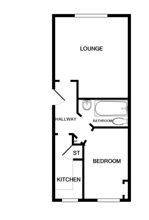1 Bedroom, 1 Bathroom Apartment For Sale in Dundee City