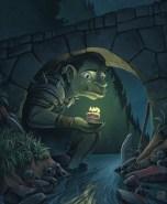 chabane-troll-under-bridge-fantasy-painting-photoshop-digital-art-monster-beast-birthday-sad