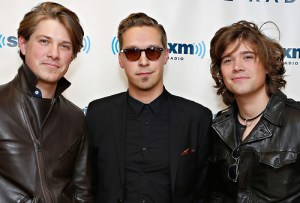 Hanson visit SiriusXM Studios - February 25, 2013