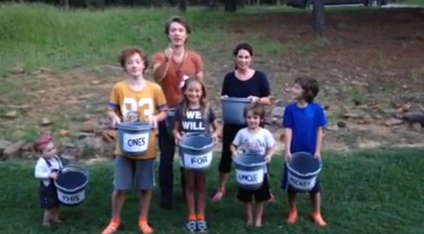 Taylor Hanson and Family take on Ice Bucket Challenge.