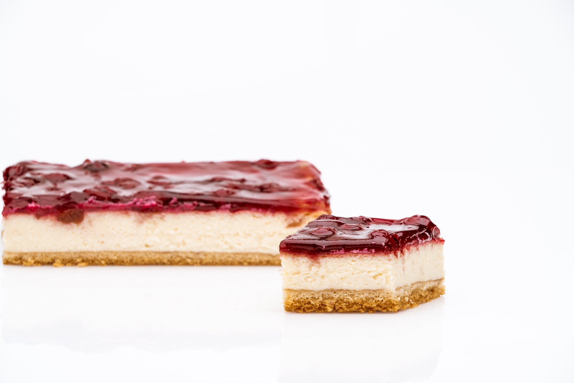 Cherry Baked Cheesecake
