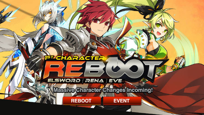 elsword reboots the first