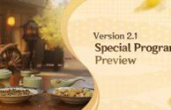 Anunciando um anúncio: Programa especial Genshin Impact V2.1 definido para sexta-feira