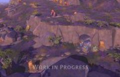 Albion Online Details Bioma e retrabalho gráfico de mundo aberto
