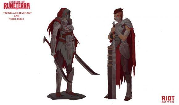 Arte do personagem de Runeterra 4