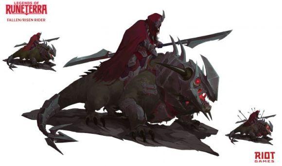 Art. 5 do personagem de Runeterra