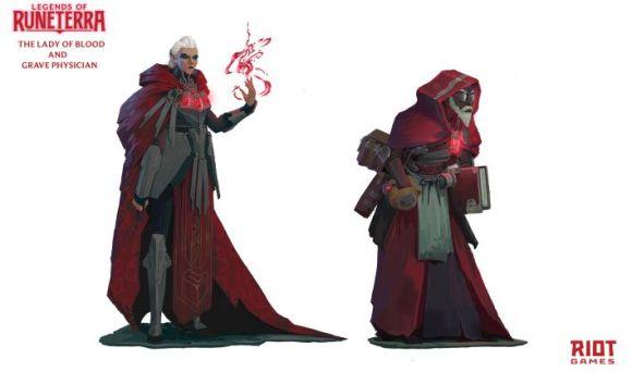 Arte do personagem de Runeterra 6