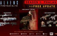 Conteúdo gratuito da primeira temporada agora disponível em Aliens: Fireteam Elite, incluindo a classe Phalanx