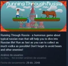 Running Throught Russia
