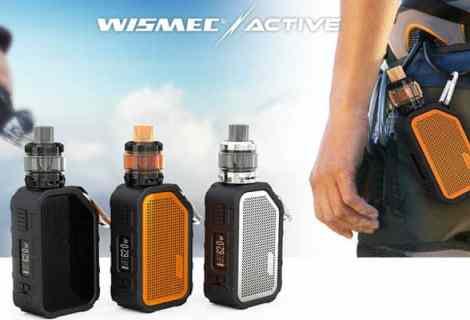Wismec Active - Mod y altavoz Bluetooth todo en uno