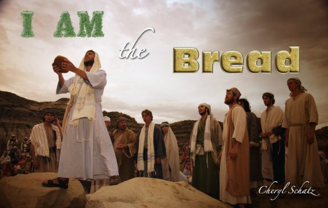 Jesus is The Bread on The Giving blog by Cheryl Schatz