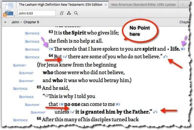 John 6:63 No Point on The Giving blog by Cheryl Schatz