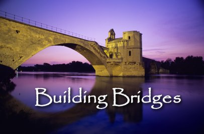 building-bridges on Women in Ministry blog by Cheryl Schatz