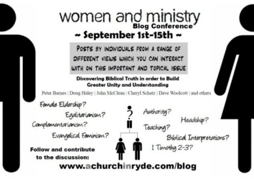 Women in Ministry Blog Conference September 1 - 15 2009