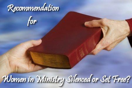 WIM recommendation on Women in Ministry by Cheryl Schatz