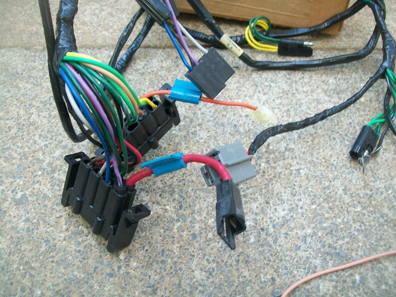 Nos Mopar Dodge B100 B200 B300 Van Wiring Harness