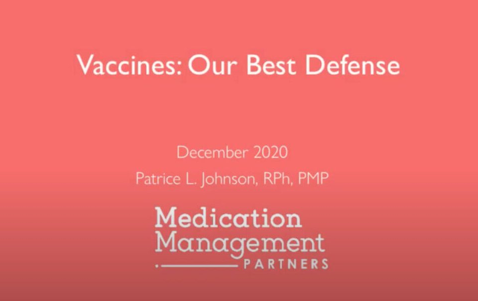 Vaccines Our Best Defense