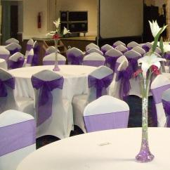 Chair Cover Hire In Birmingham Navy Wingback Slipcover