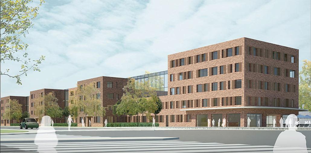 wohnsiedlung in hamburg lokstedt mmst architekten hamburg berlin. Black Bedroom Furniture Sets. Home Design Ideas