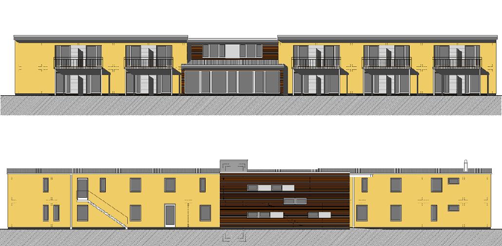 Ansichten Wohnhaus Falkenkamp