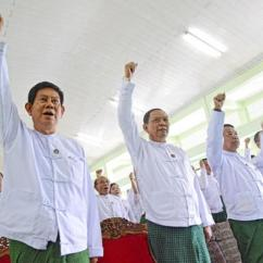 Office Chair Yangon Couch And Defeated Ruling Party Struggles To Reassert Itself Prepares U Htay Oo Left Vice Of The Union Solidarity Development