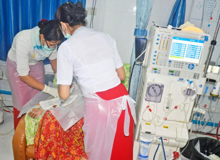 Mandalay organisation expands free dialysis treatment  The Myanmar Times