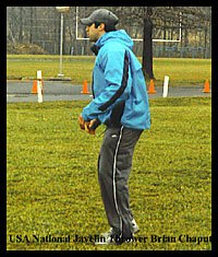 USA National Javelin Thrower Brian Chaput