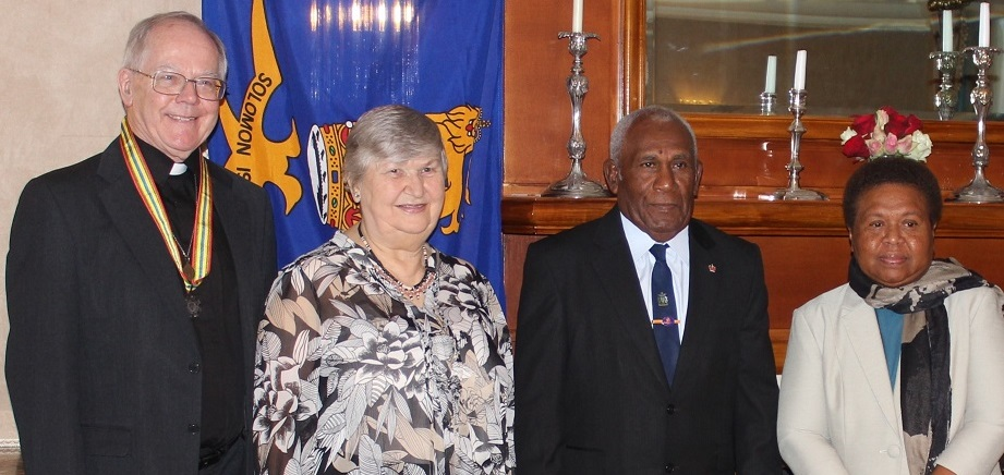 Solomon Islands Medal for Canon John Pinder