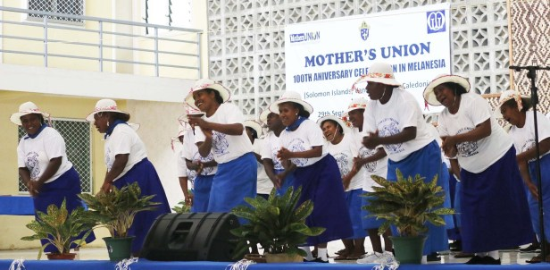 Celebrating 100 Years of the Mothers' Union is Solomon Islands