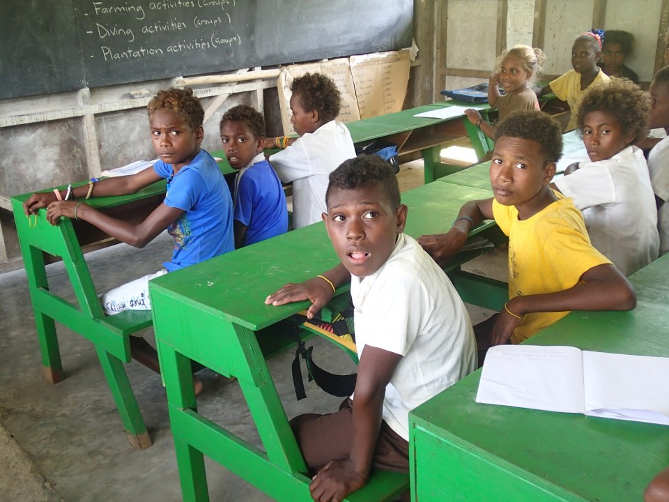 Honiara School Children