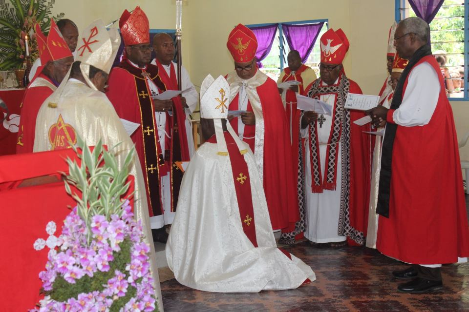 Installation of Revd Benedict Loe into the Office of Bishop