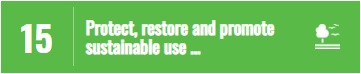 SDG15 - Protect, restore and promote sustainable use...