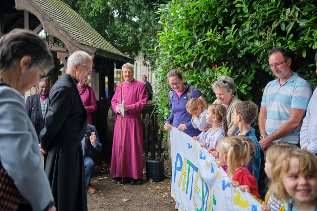 Archbishop of Canterbury opens Patteson's Way - Children