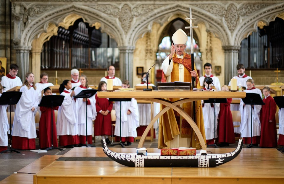 Archbishop of Canterbury - Festival and AGM - Exeter Cathedral