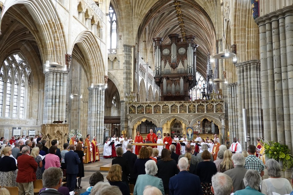 Festival and AGM Eucharist - Exeter Cathedral