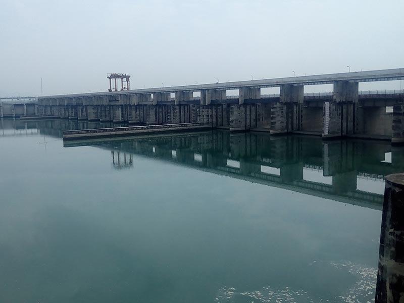 An Industrial visit to Hathni Kund barrage and Hydropower Plant, Yamunanagar