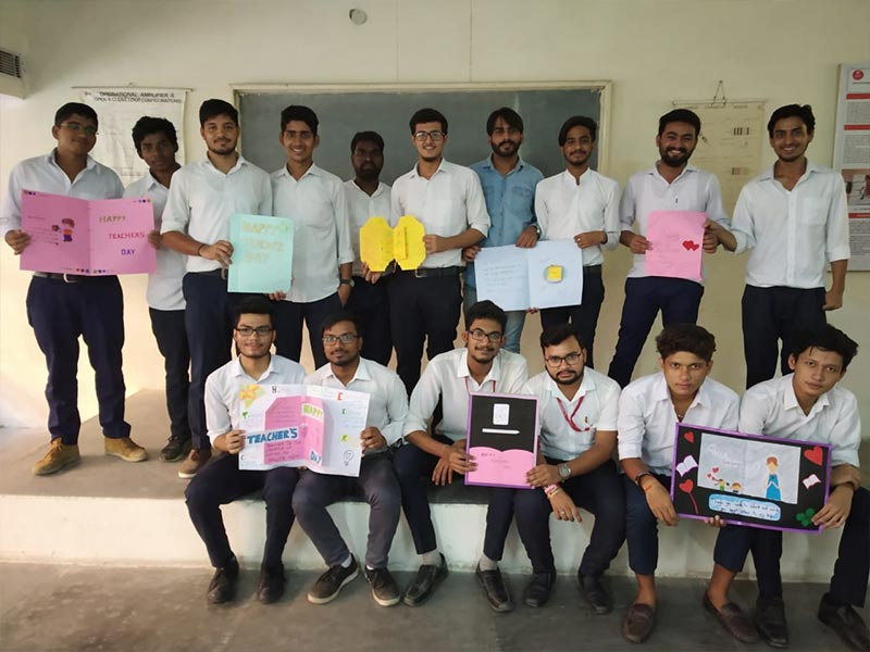 Card Making Competition on Teachers Day