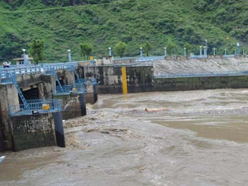 An Industrial visit to Bhakra bandh Hydro power generation , Nangal